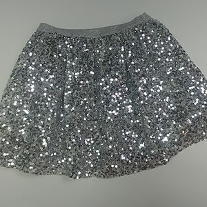 Sequined Silver Shirt